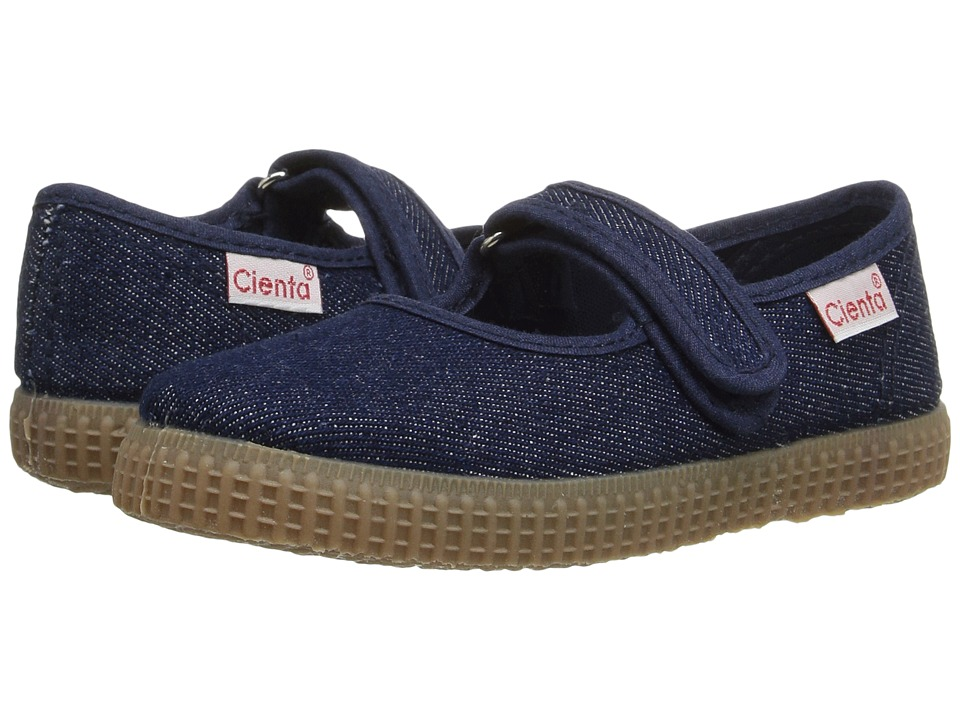 Cienta 56079 (Infant/Little Kid/Big Kid) (Denim) Girl's Shoes