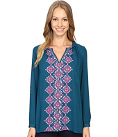 Hatley - Pleated Neckline Blouse