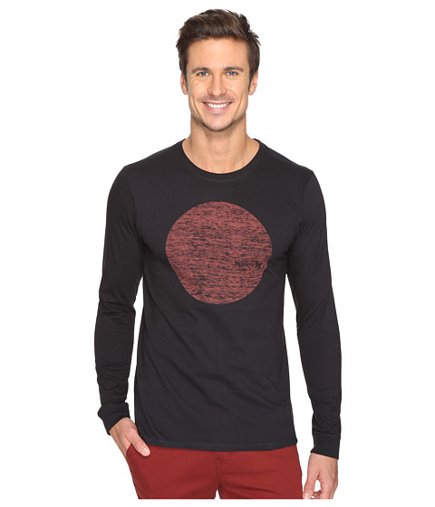 Hurley Circular Long Sleeve Tee - Black