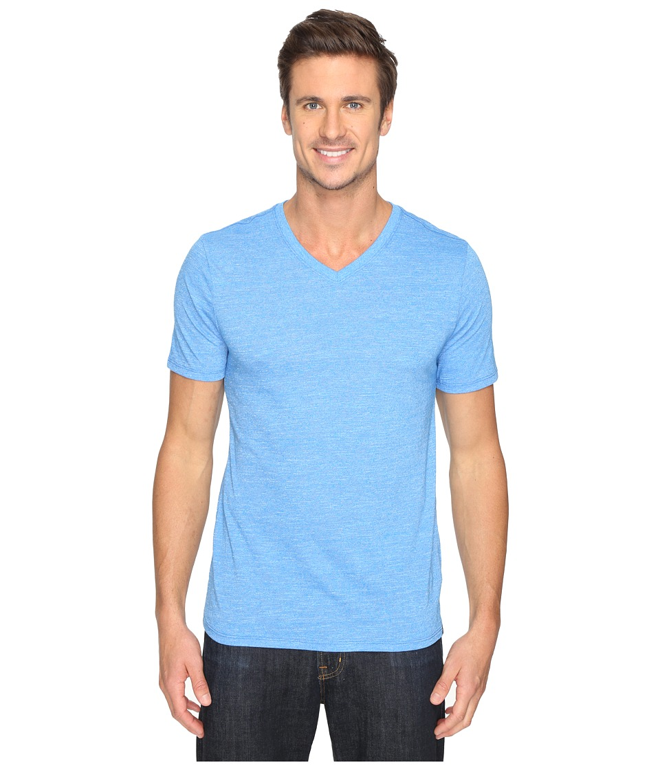 Hurley Staple Tri-Blend V-Neck (Light Photo Blue) Men