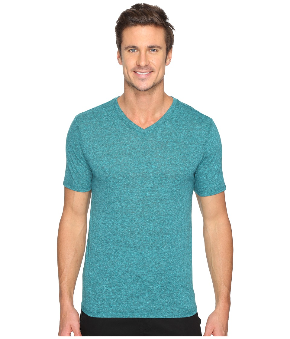 Hurley Staple Tri-Blend V-Neck (Seaweed) Men