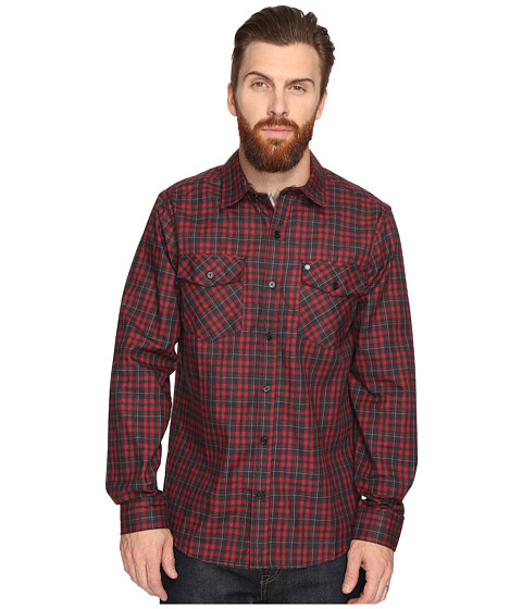 Hurley Cascade Dri-Fit Flannel - Team Red