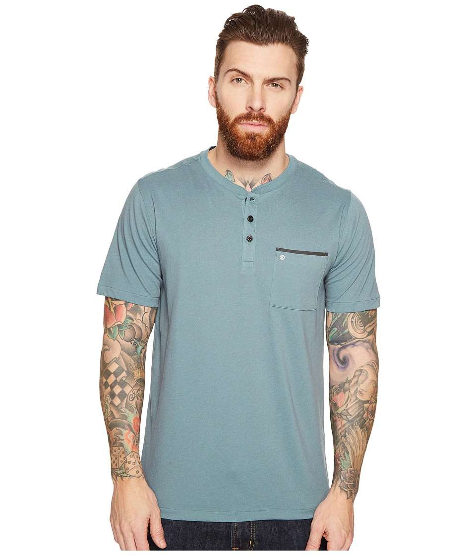 Hurley Lagos Dri-Fit Lagos Henley (Hasta) Men