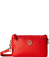 Tommy Hilfiger - Double Zip Crossbody - Pebble Leather
