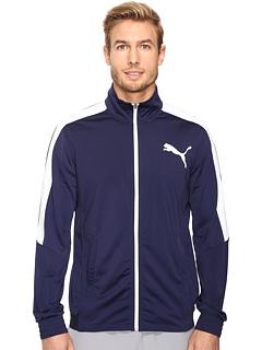 PUMA Men's Contrast Jacket (Peacoat/Puma White)