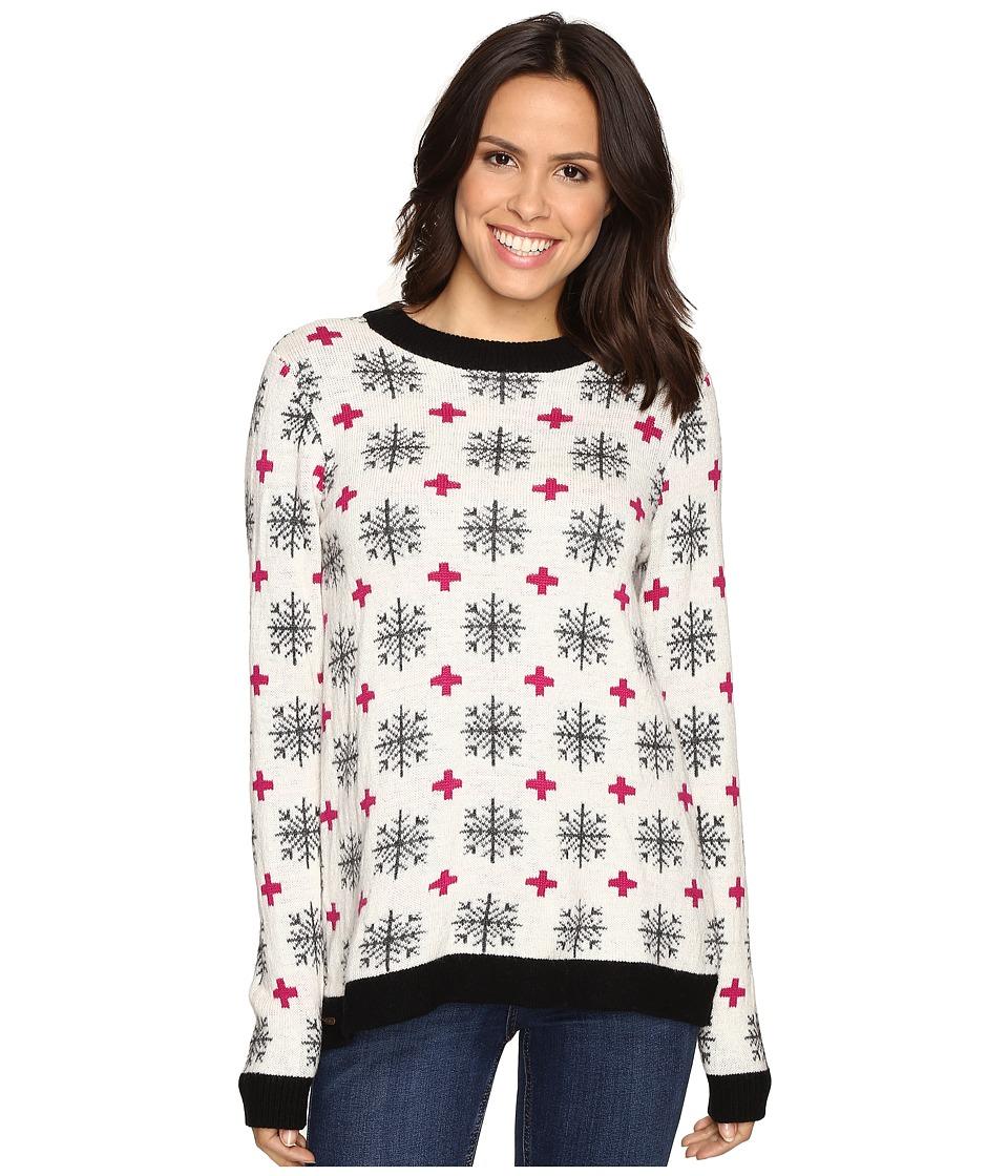 Hatley Crew Neck Sweater (Alpine Snowflakes) Women