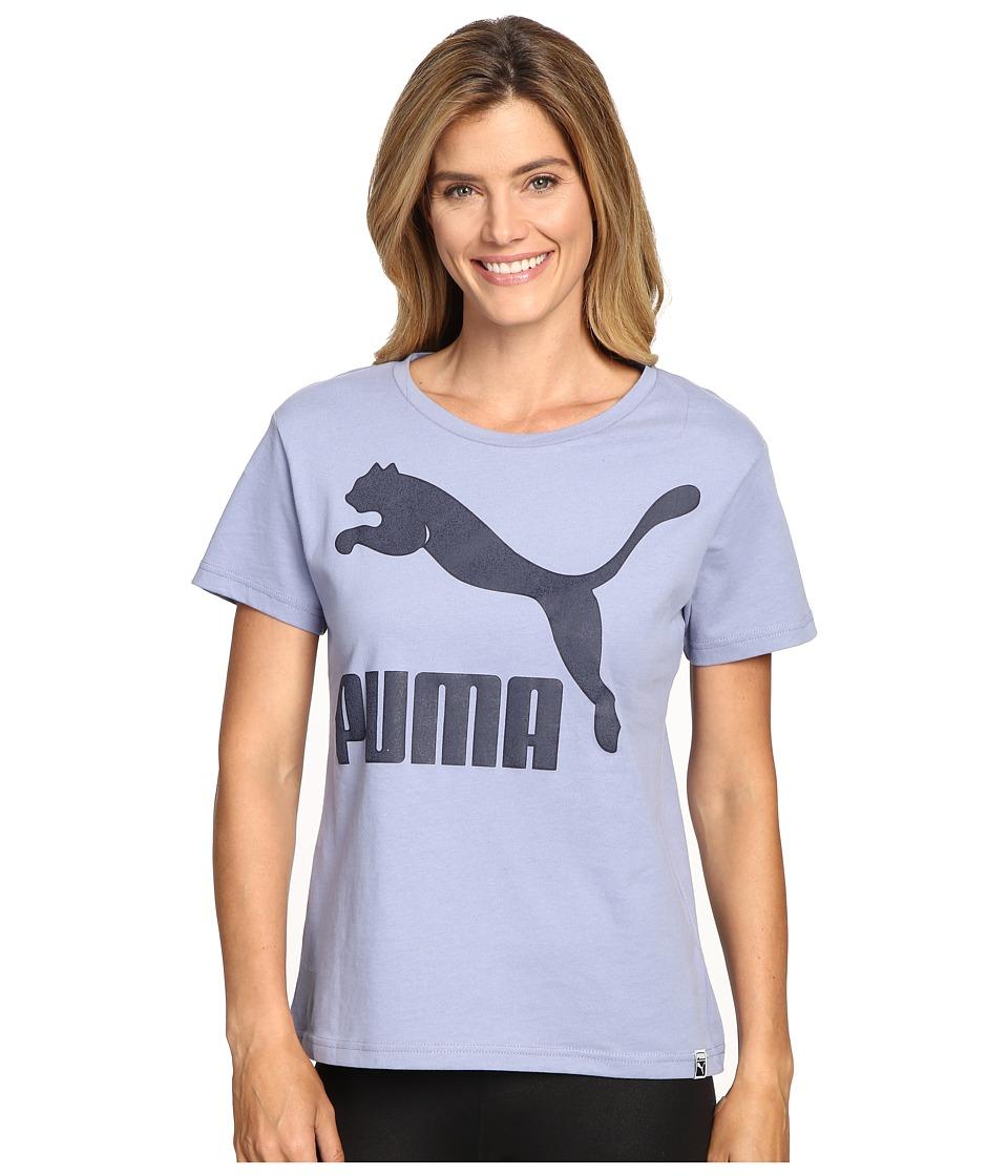 PUMA Archive Logo Tee (Tempest) Women