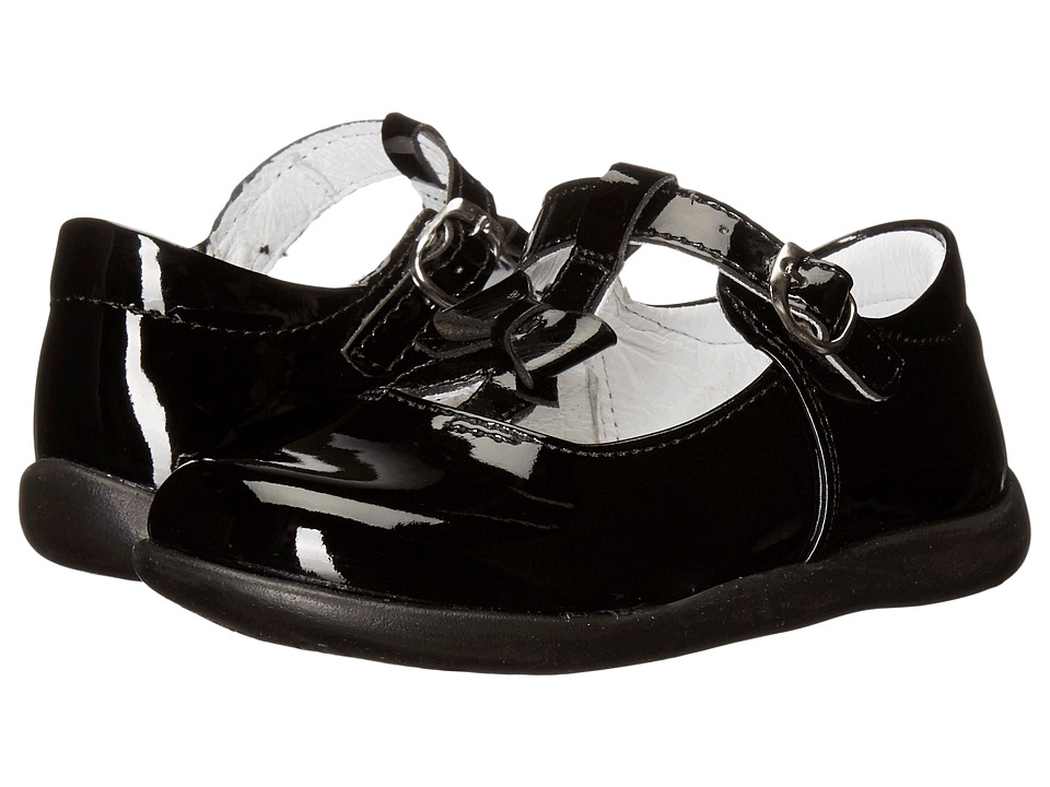 Kid Express - Ciel (Toddler/Little Kid) (Black Patent) Girls Shoes