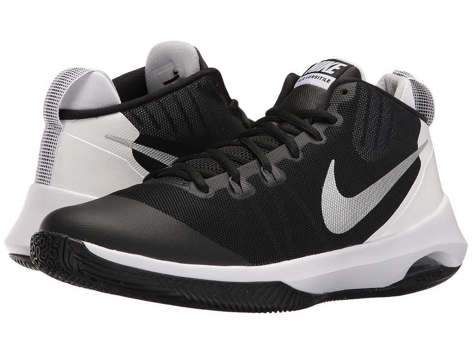 Nike Air Versatile (Black/Metallic Silver/Dark Grey/Pure Platinum) Men