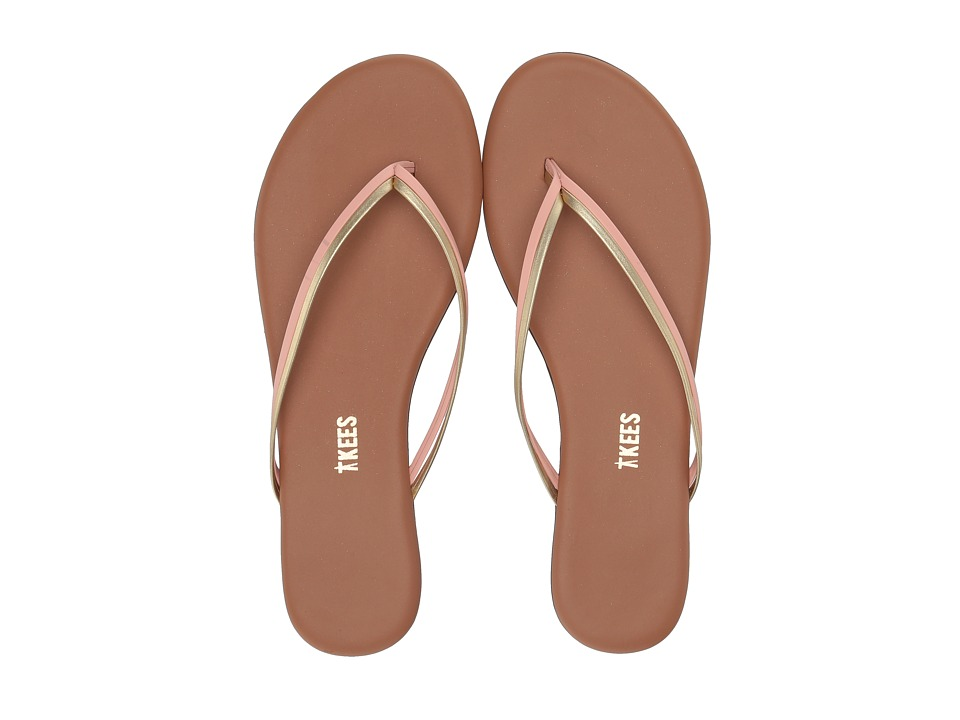 TKEES Flip-Flop-Duos (Lush) Women's Toe Open Shoes