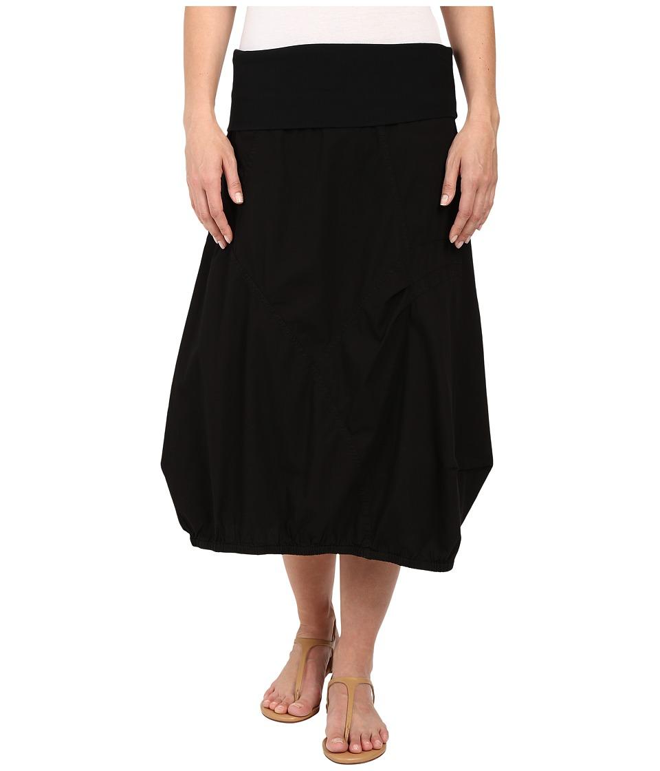 XCVI Logan Skirt Black Womens Skirt