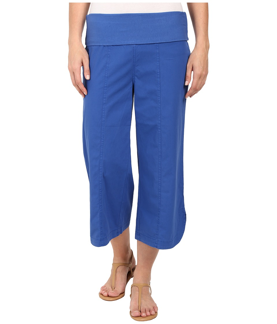 XCVI Harrison Culottes Honorable Blue Womens Casual Pants