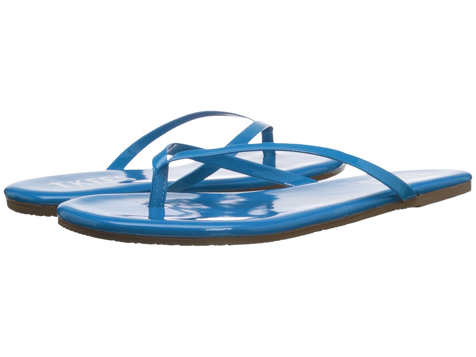 TKEES Glosses Blueberry Womens Sandals