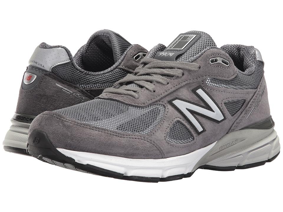 New Balance - 990v4 Reflect Pack (Dark Grey) Mens Shoes