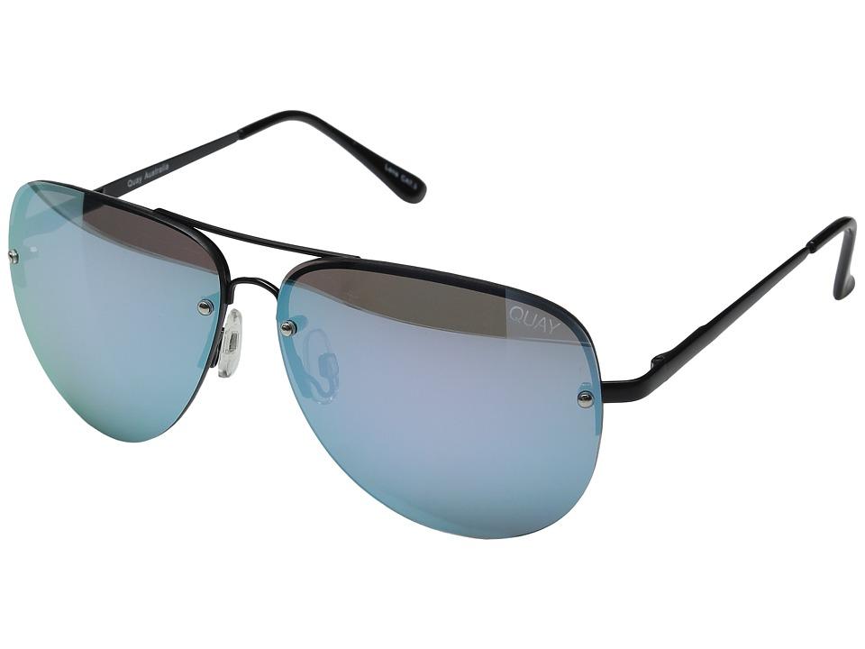 QUAY AUSTRALIA - Muse (Black/Purple Mirror) Fashion Sunglasses