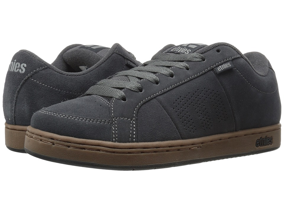 etnies - Kingpin (Dark Grey/Black/Gum) Mens Skate Shoes