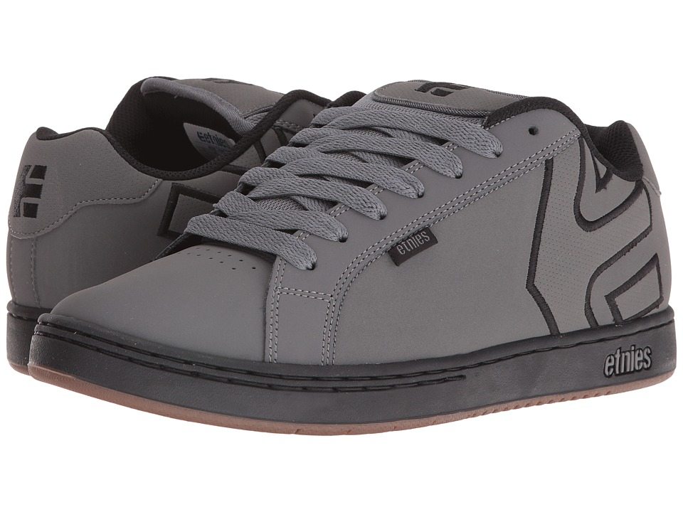 etnies - Fader (Grey/Black/Gum) Mens Skate Shoes