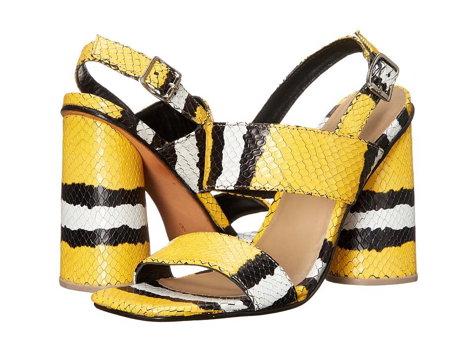 Rachel Comey Madera Canary Croc High Heels