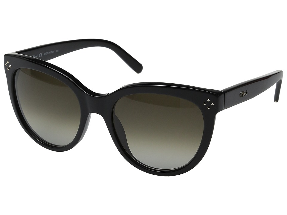 Chloe CE705SL Boxwood Black/Dark Grey Gradient Fashion Sunglasses