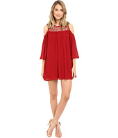 Brigitte Bailey - Crochet Cold Shoulder Dress