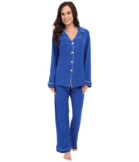 BedHead Long Sleeve Classic PJ - Royal Blue