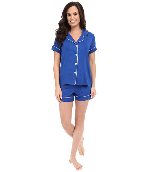 BedHead Shorty PJ Set - Royal Blue