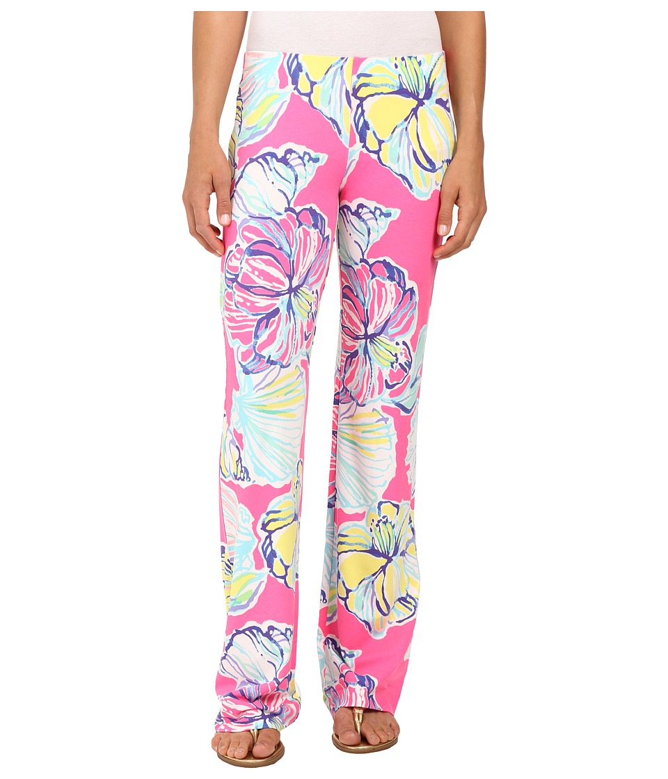 Lilly Pulitzer Georgia May Palazzo (Kir Royal Pink Swept ...