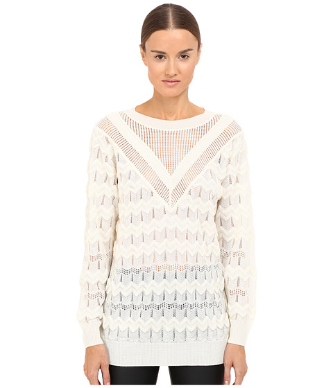 M Missoni Solid Long Sleeve Top