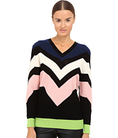 M Missoni - Graphic Intarsia Sweater