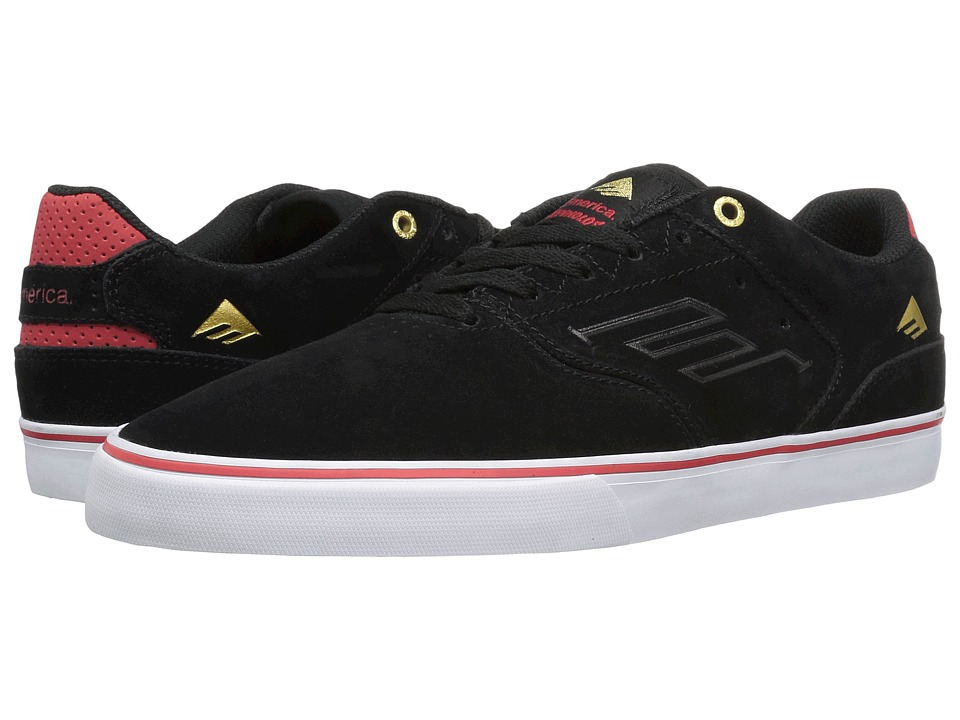 Emerica The Reynolds Low Vulc (Black/White/Red) Men