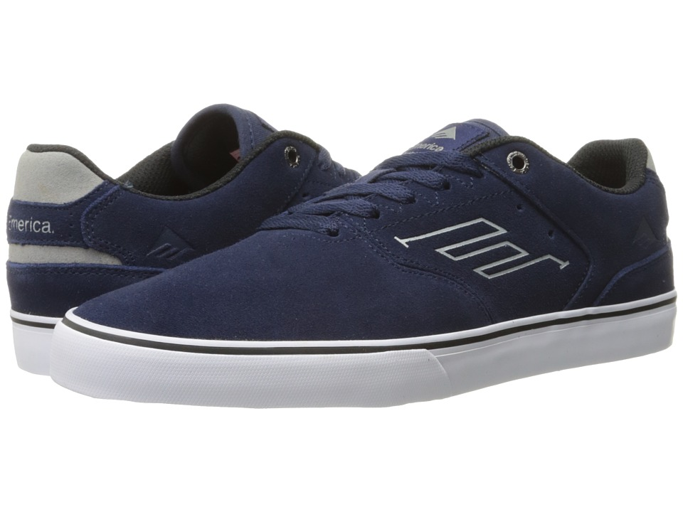 Emerica The Reynolds Low Vulc (Navy/Grey/White) Men
