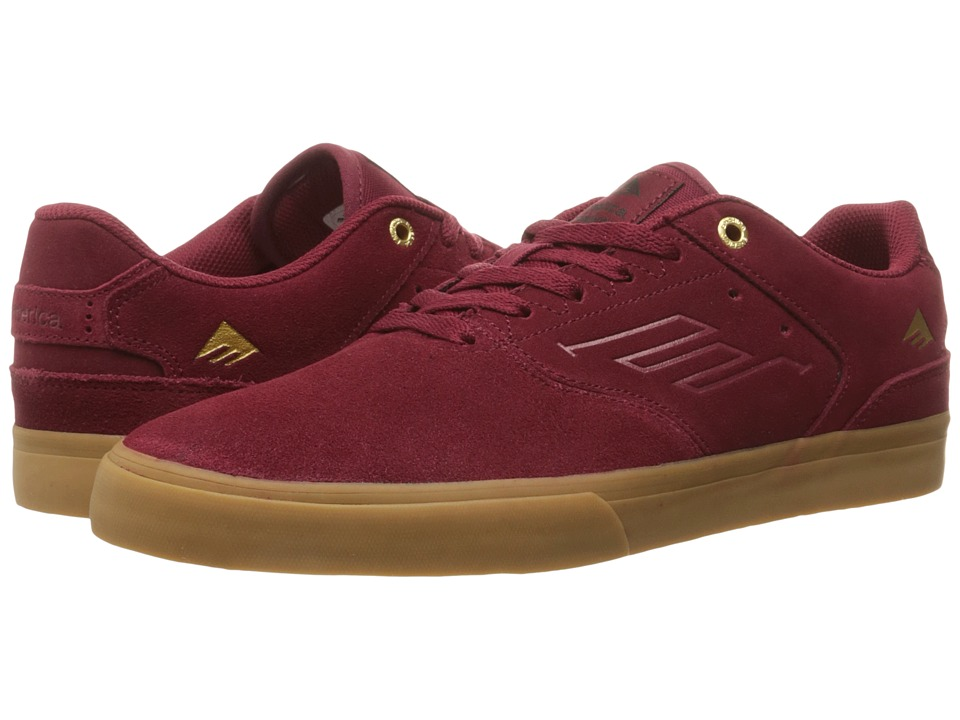 Emerica The Reynolds Low Vulc (Burgundy/Gum) Men