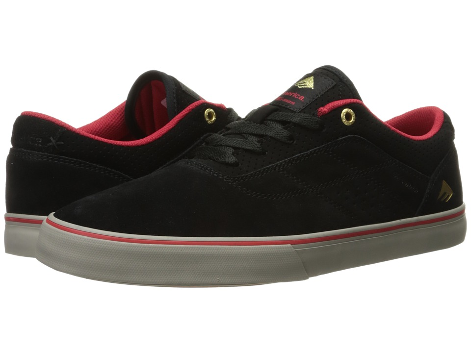 Emerica The Herman G6 Vulc (Black/Red/Grey) Men