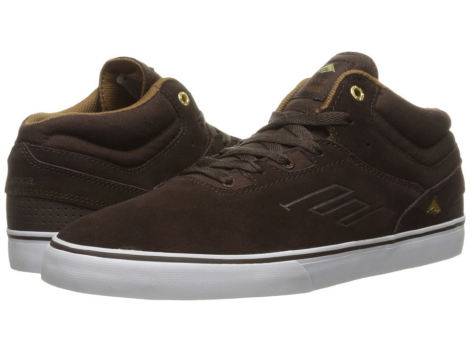 Emerica The Westgate Mid Vulc (Dark Brown) Men