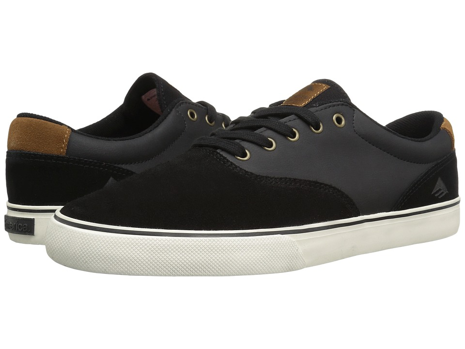 Emerica The Provost Slim Vulc (Black/Brown) Men