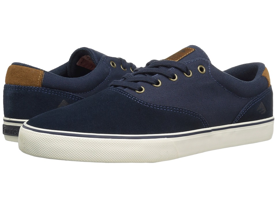 Emerica The Provost Slim Vulc (Navy/Brown/White) Men
