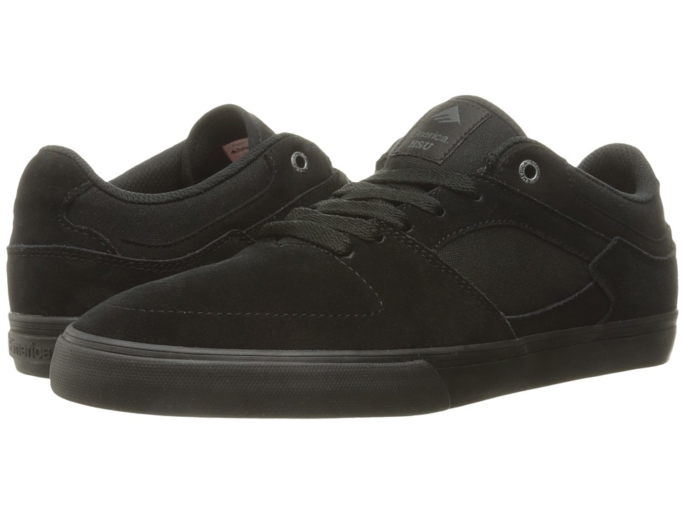 Emerica The Hsu Low Vulc (Black/Black) Men
