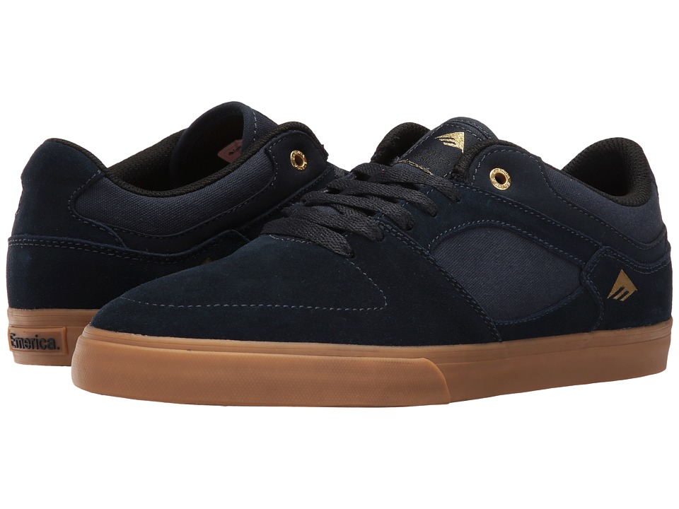 Emerica The Hsu Low Vulc (Navy/Gum) Men