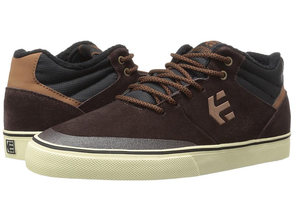 etnies - Marana Vulc MT (Dark Brown) Mens Skate Shoes