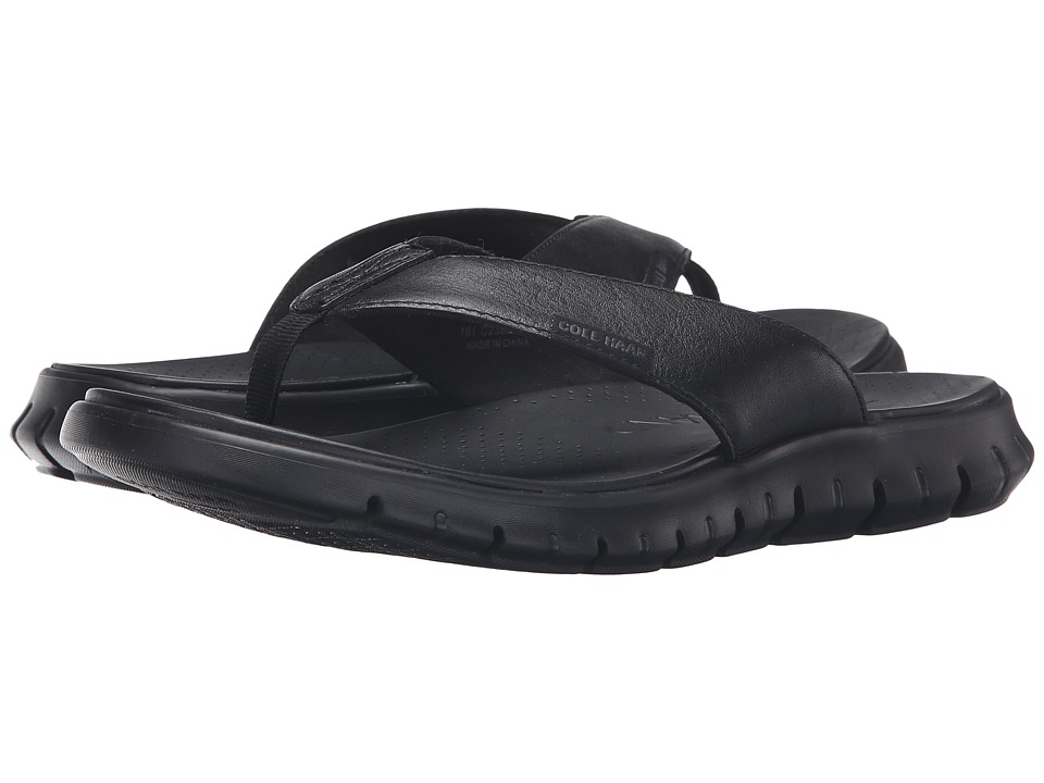 Cole Haan Zerogrand Sandal (Black) Men