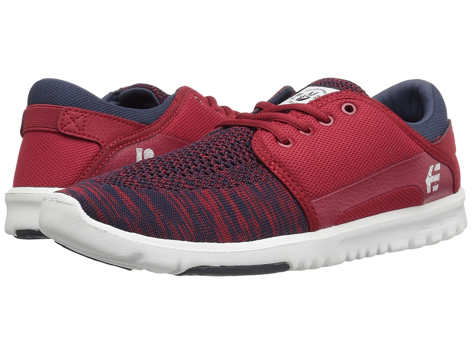 etnies - Scout YB (Navy/Red/White) Mens Skate Shoes