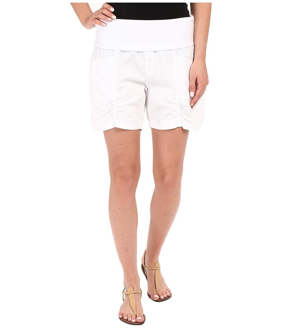 XCVI Kaya Shorts White Womens Shorts