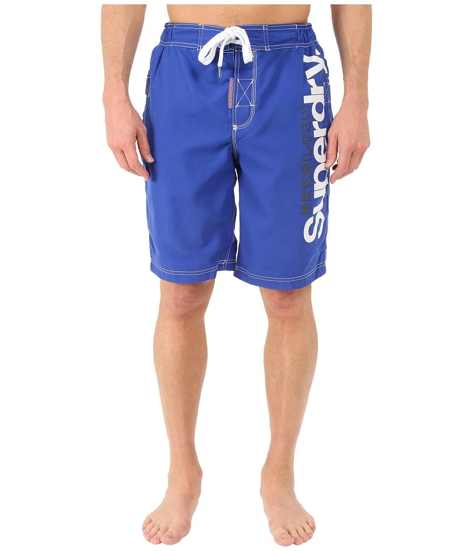 Superdry Superdry Boardshorts Voltage Blue Mens Swimwear