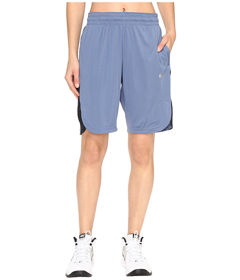 Nike Elite Basketball Short - Ocean Fog/Purple Dust/Matte Silver