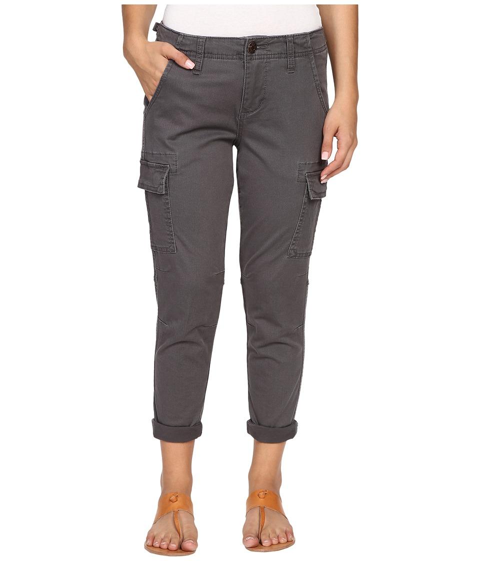 Jag Jeans Petite Petite Powell Cargo Slim Boyfriend Jeans in Bay Twill Flint Womens Casual Pants