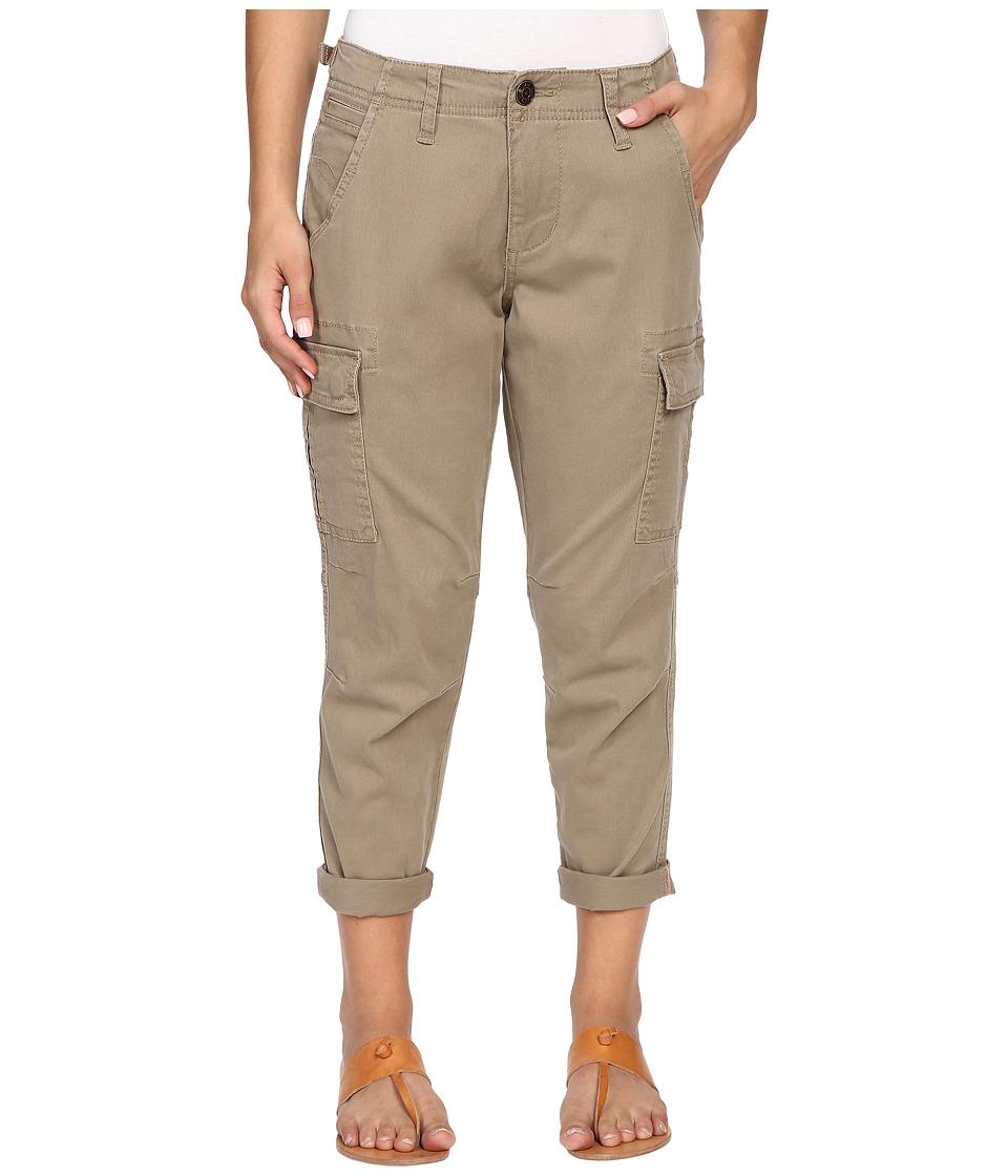 Jag Jeans Petite Petite Powell Cargo Slim Boyfriend Jeans in Bay Twill Hazelnut Womens Casual Pants