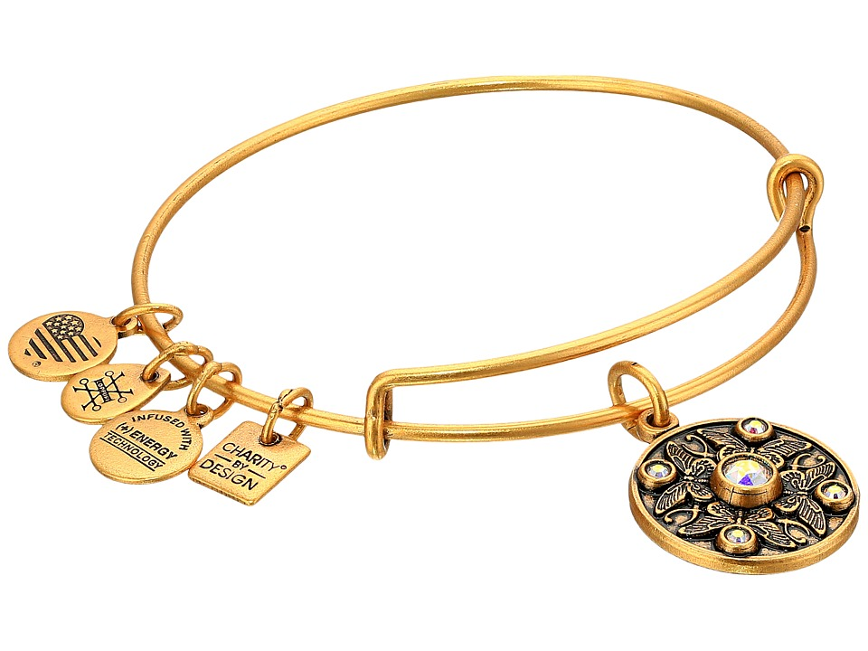 Alex and Ani Charity By Design Wings of Change Bracelet Gold Bracelet