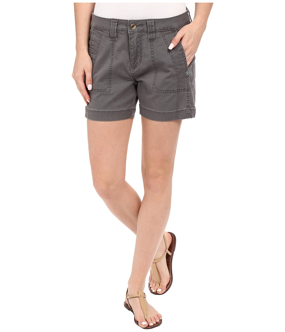 Jag Jeans Petite Petite Somerset Relaxed Fit Shorts in Bay Twill Flint Womens Shorts