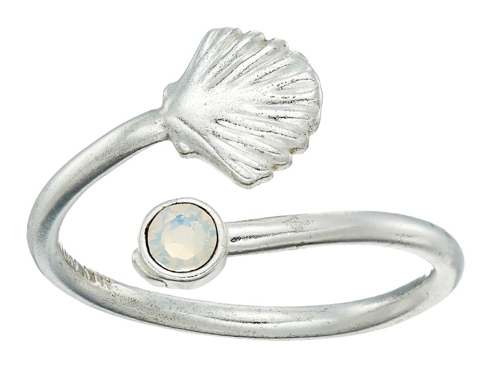 Alex and Ani - Shell Wrap Ring (Silver) Ring