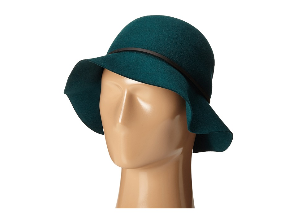 1930s Style Hats – New Vintage Inspired Designs Goorin Brothers - Mrs. Blanc Teal Caps $60.00 AT vintagedancer.com